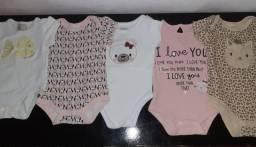 Combo Bodys para bebê