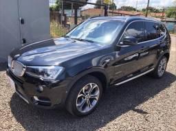 BMW X3 XDRIVE 20i 2.0/X-Line Bi-TB Flex Aut. - Preto - 2016 - 2016