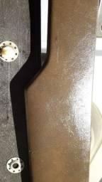 Par de Ombreiras traseira Monocromática Linha Gol GL