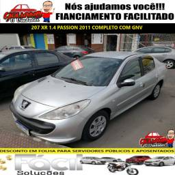 Peugeot 207 1.4 Xr Passion com GNV, Financiamento Facilitado