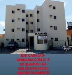 Aluga-se apartamentos em vários bairros da capital com 1, 2 e 3 quartos