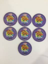 7 Super Magic Tazo Tiny Toon - 6 Pontos