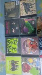Rock cds vários e dvds