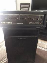 Vendo caixa amplificador