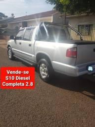 S10 Camioneta Completa Diesel CD Melhor Motor 2.8 MWM Original