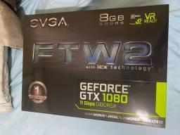 Placa de video GTX 1080 FTW2 EVGA