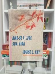 """Ame-se e Cure sua Vida"" de Louise L. Hay com Marcas de Uso Sem Rasuras"