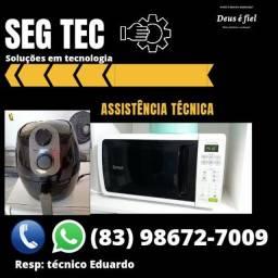 Conserto e manutenção micro-ondas e fritadeira elétrica
