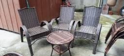 Lindas cadeiras Sofia luxo