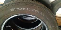 Vendo pneu meia vida 185/60/15 200,00 tudo