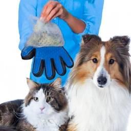 Luva Nano Magnética Tira Pelos de Cães e Gatos