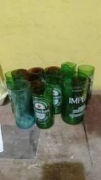 Copos de garrafas long nek de vários modelos 1,50