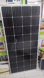 Placa Solar Painel Solar 12v 150w + Conector Mc4