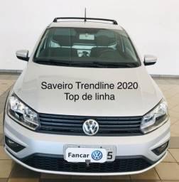 Saveiro Trendline 1.6 Msi flex top de linha 2020 -17.500 km