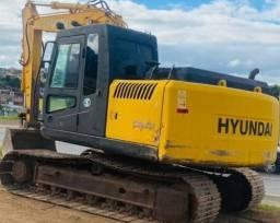 Escavadeira Hyundai Entrada + Parcelas
