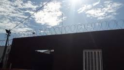 Concertina Dupla 45cm galvanizada Cuiabá e várzea grande