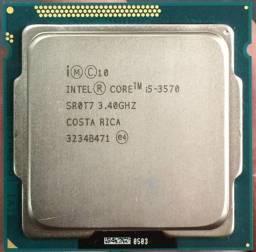 Kit Intel I5 3570 + Cooler + Placa Mãe Q77 + 16gb Ddr3