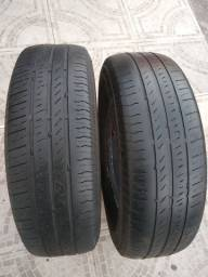 2 pneus 14 REF 185/70/14 apenas$120 a unidade