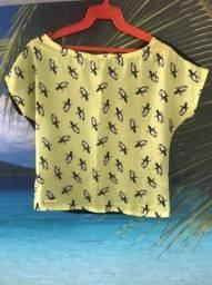 Título do anúncio: Blusa Infantil Spuk Kids de tucanos
