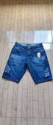 Bermudas jeans masculina