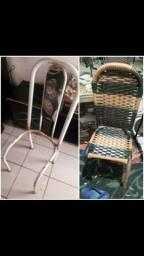 Vendas e reforma de cadeiras em fibra sintética