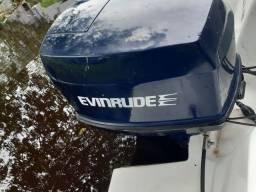 Vendo esse motor de popa 140 hp Evinrude