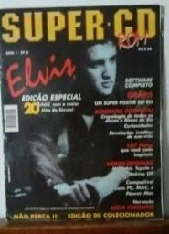 Revistas de dois ídolos Elvis Presley e Maradona