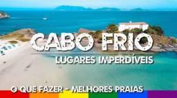 R$250,00 diárias alta temporada em Cabo Frio para o limite máximo de 6 pessoas
