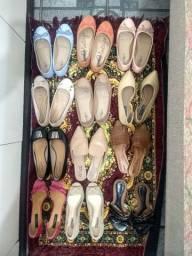 Sapatos usado poucas vezes