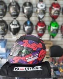 Black quarentena capacete norisk