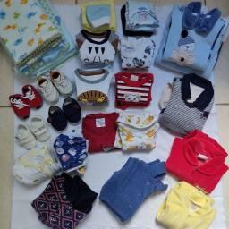 Combo roupas menino
