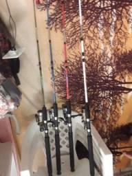 Vendo vara de pesca zerada