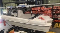 Lancha modelo fishing 17 Pes ! NOVA !