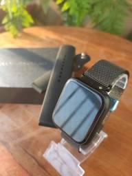 Relógio digital <br>SmartWatch P70 preto top de linha  novo na caixa enviamos bem embalado