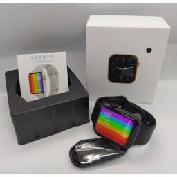 Smartwatch Iwo 12 lite Pro Faz e recebe ligaçoes passa musicas