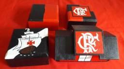 Cofres De Times Flamengo e Vasco de Madeira