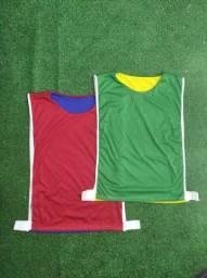 Colete dupla face futebol futsal handball treino