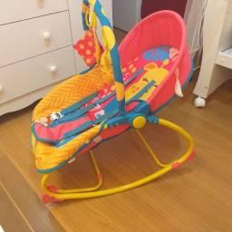 Cadeira de balanço infantil musical