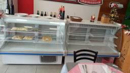 Vendo balcão frigorífico confeitaria refrigerado GEPV 140L R$2000,00 cada um