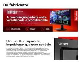 Monitor Lenovo ThinkVision 21,5 polegadas