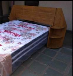 Cabeceira  cama de casalMdF
