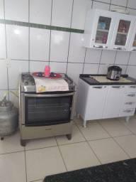 Vende-se: Fogão 5 bocas Esmaltec Inox e outros itens  (na cidade de Itapaci-Goias:.
