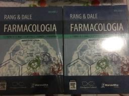 Livro Farmacologia Rang & Dale volume 1 volume 2 NOVO