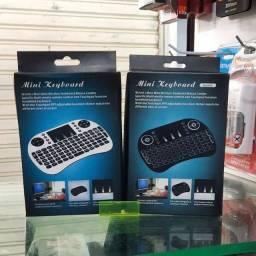 Mini teclado wireless para TV box e smart
