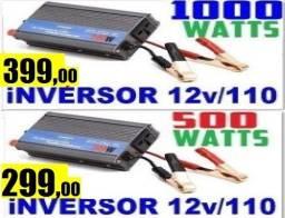 Inversores 500w / 1000W / marca LeBOSS, a melhor / 12v / 110v...