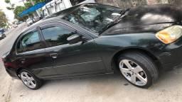 Honda Civic LX 1.7 2003 Automático!!!