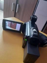 Filmadora Sony Hxr-Nx30 Nxcam Fullhd 96Gb Com Projetor<br><br>