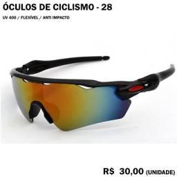 Óculos de Ciclismo com Lentes Espelhadas