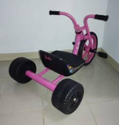 Triciclo Velotrol Rosa - Bandeirantes