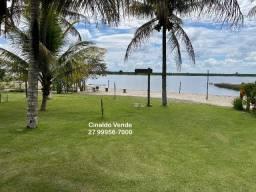 Área de Lagoa com 20m de praia particular em Linhares ES